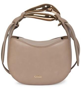 Chloé Kiss Leather Hobo Bag