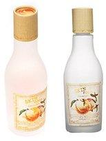 Skinfood Peach Sake Toner 135ml + Emulsion 135ml [Total 2Pcs]