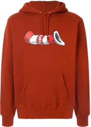 Supreme Cat in the Hat hoodie