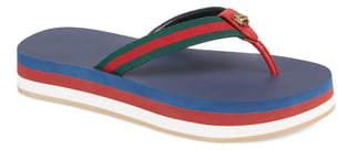 Gucci New Bedlam Flip Flop