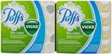 Vicks Puffs Plus Lotion Facial Tissues with scent of