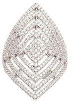 Lord & Taylor Cubic Zirconia Multi-Diamond Design Ring
