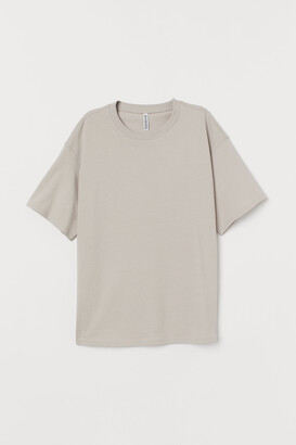 H&M Wide-cut Cotton T-shirt