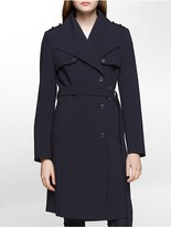 Calvin Klein Storm Flap Trench Coat