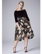 Coast Maneela Jacquard Skirt Dress