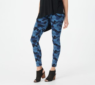 Women With Control Women with Control Petite Tummy Control Tushy Lifter Printed Legging