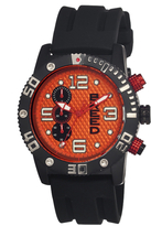 Breed Grand Prix Orange Mens Watch
