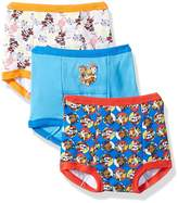 Nickelodeon Paw Patrol Boys' 3-Pack Training Pants & Chart Set