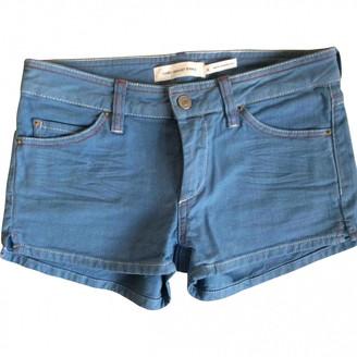 Etoile Isabel Marant Blue Cotton Shorts for Women