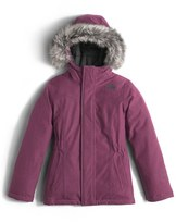 The North Face 'Greenland' Waterproof Down Jacket (Big Girls)