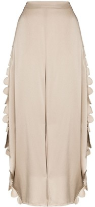Stella McCartney Scalloped edge harem trousers