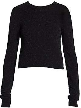 Acne Studios Women's Kornella Lurex Knit Sweater