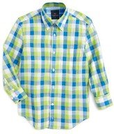 Tailorbyrd Boy's Check Dress Shirt