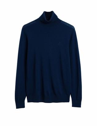 Gant Men's Washable Merino Turtleneck Sweater