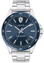 Scuderia Ferrari Ferrari Scuderia Pilota Men's Stainless Steel Bracelet Watch
