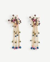 Ann Taylor Flower Burst Statement Earrings