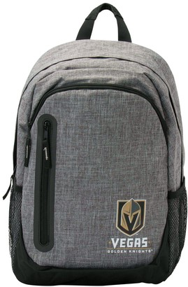Vegas Golden Knights Heathered Grey Bold Color Backpack