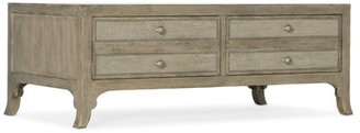 Hooker Furniture 4 Legs Coffee Table with Storage