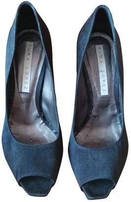 Pura Lopez Black Other Heels