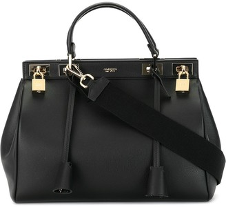 Giambattista Valli Structured Leather Tote Bag