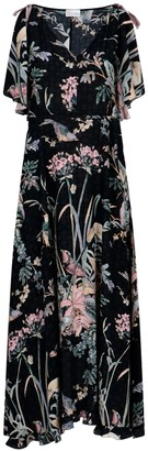 RED Valentino Long Floral Dress