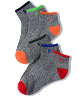 Polo Ralph Lauren Men's Socks, Athletic Quarter 6 Pack