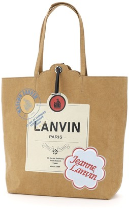 Lanvin Grocery Shopping Bag
