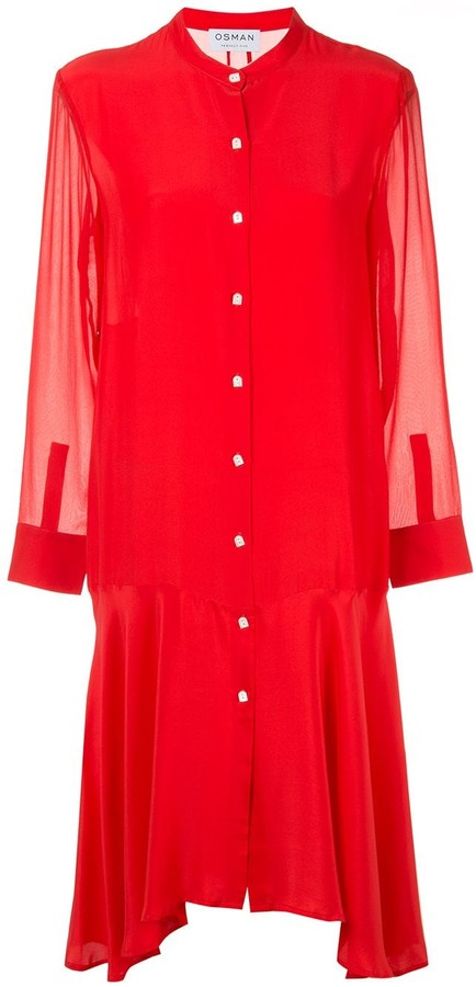 Osman Plain Shirt Dress