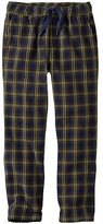 Boys Doublesoft Pants In Plaid Twill