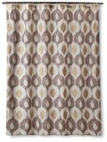 Threshold Lurex Diamond Shower Curtain - Gold/Toffee/Sour Cream