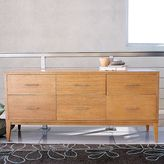 6 Drawer Narrow Leg Dresser