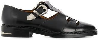 Toga Virilis Cutout Monk Shoes