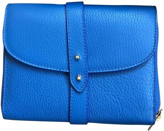 Meli-Melo Blue Leather Wallets