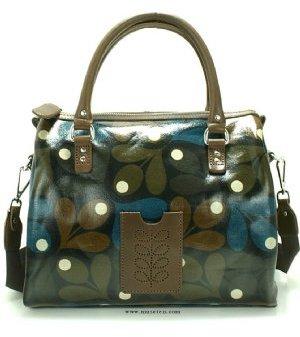 Orla Kiely Acorn Nancy Bag