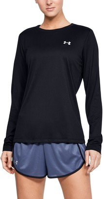 Under Armour Women's UA Tech Crew Long Sleeve