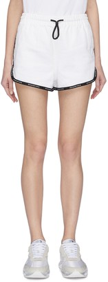 Alexander Wang Logo tape outseam shorts