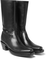 Vetements Lucchese Cuban-Heel Leather Boots