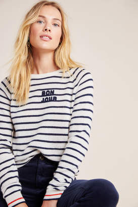 Trovata Birds Of Paradis By Bonjour Cashmere Sweater