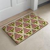 Crate & Barrel Holiday Topiary Coir Doormat