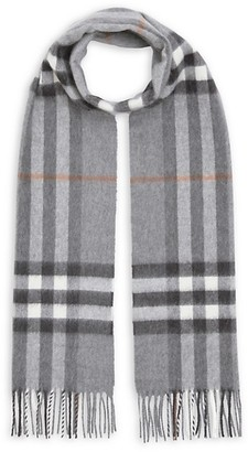 Burberry The Classic Giant Check Cashmere Scarf