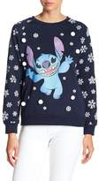 Freeze Stitch Christmas Pullover