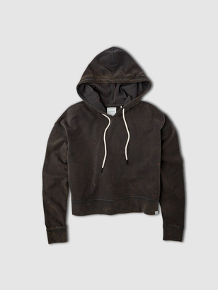Jason Scott Drop Shoulder Hoodie - Charcoal Multi