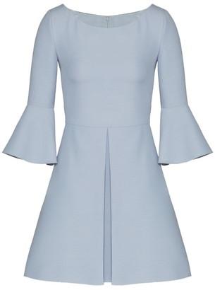 Valentino Wool-Silk Mini Dress