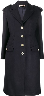 Marni Buttoned Fitted Coat