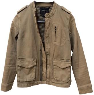 Maison Scotch Beige Cotton Jacket for Women