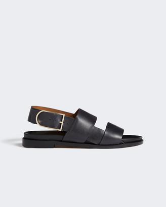Jigsaw Steffi Leather Footbed Sandal