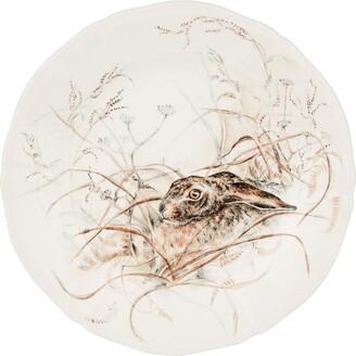 Gien Sologne Hare Dessert Plate (23Cm)