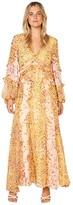 Bardot Mixed Print Dress (Pinky Leopard) Women's Dress