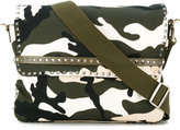 Valentino Garavani Valentino Camupanther messenger bag - men - Cotton/Leather - One Size