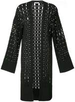 Versace pointelle-knit cardigan